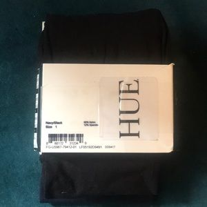 HUE Accessories - Hue Control Top Tights - 2 pair - size XS - opaque